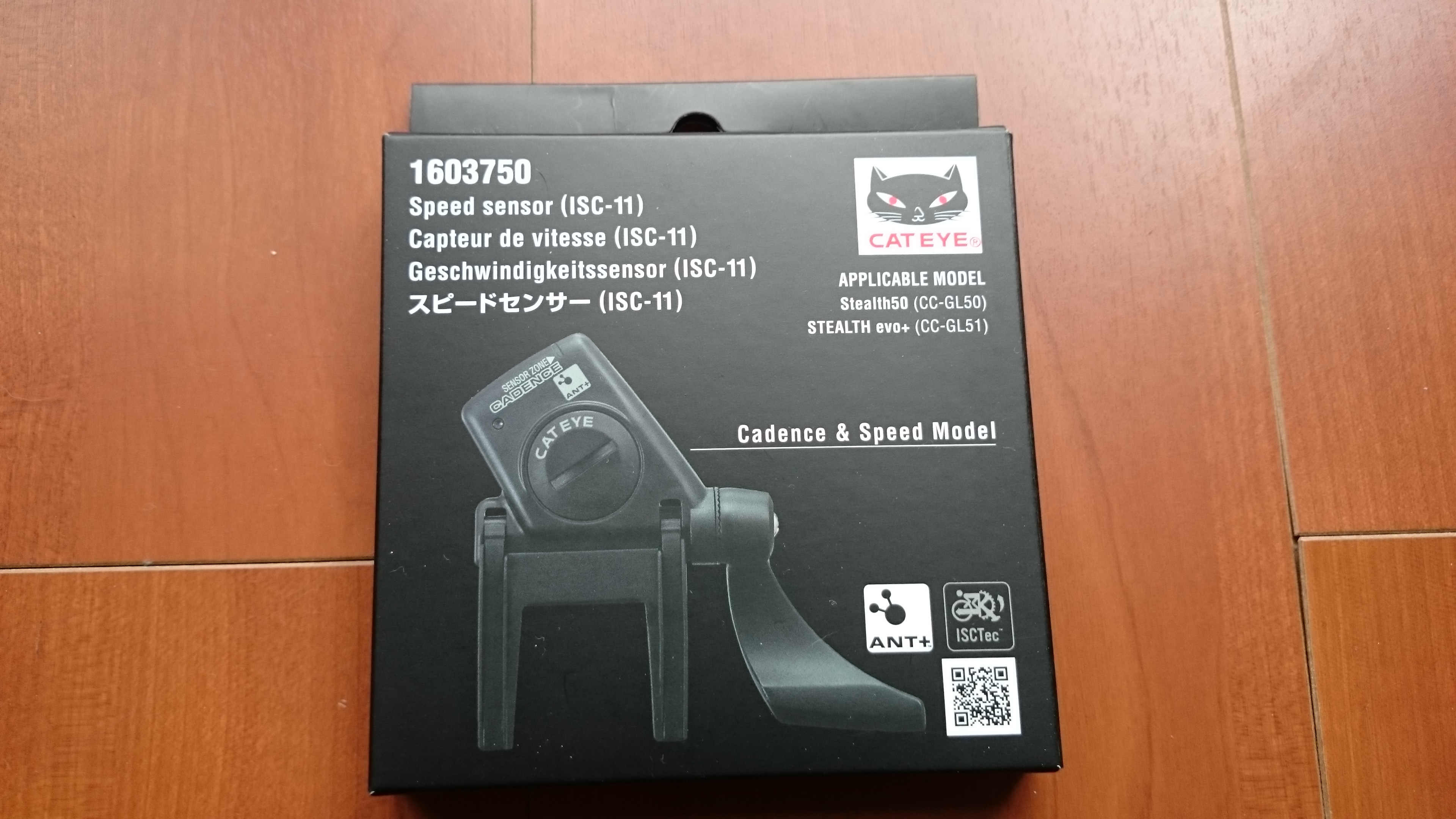 CATEYE ISC-11 ANT NEW Cycling Computer Speed//Cadence Wireless Sensor
