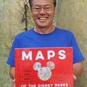 「世界のディズニーパーク絵地図」が素晴らしい!