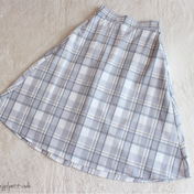 【GUパト】お値下げ590円のお嬢様チェック柄スカート♡