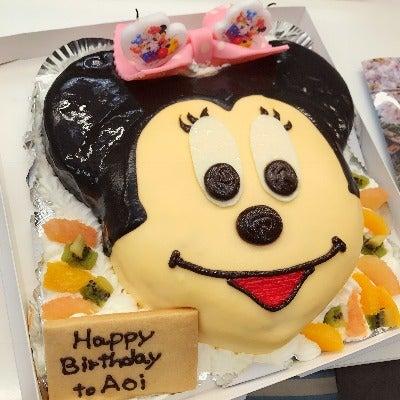 ミニーちゃんの誕生日ケーキ バースデーケーキ