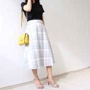 【Tシャツなのにキレイめにも◎】全身5000円以下のスカートコーデ♡