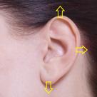 耳のツボ 3⃣ ☆ ツボ情報の記事より