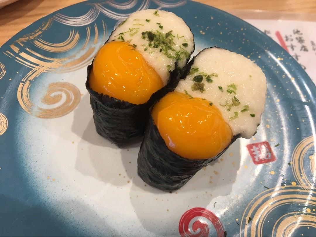 山芋うずら 回転寿司