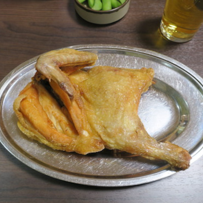 小樽の若鶏時代なると本店で若鶏半身揚げの記事に添付されている画像