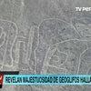 ▼唸声ペルー映像/ナスカより古い地上絵をドローンで撮影の画像