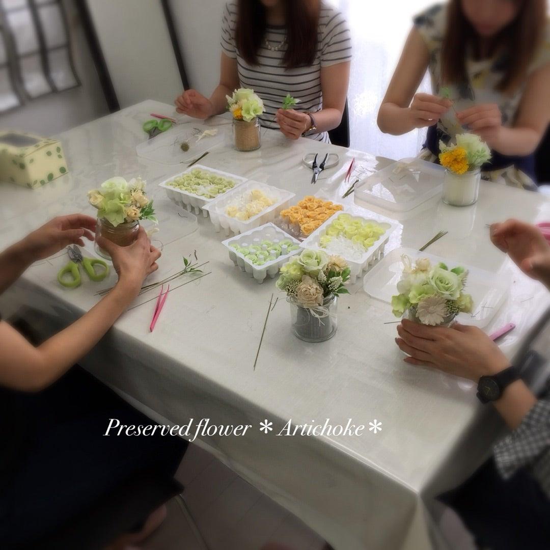 プリザーブドフラワー教室 東京 世田谷