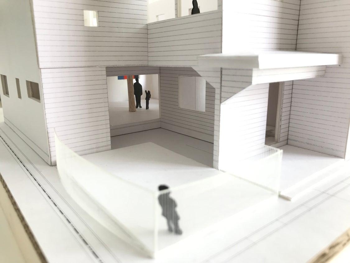 親子園新設計画⑫ 親子園の模型ができましたの記事より