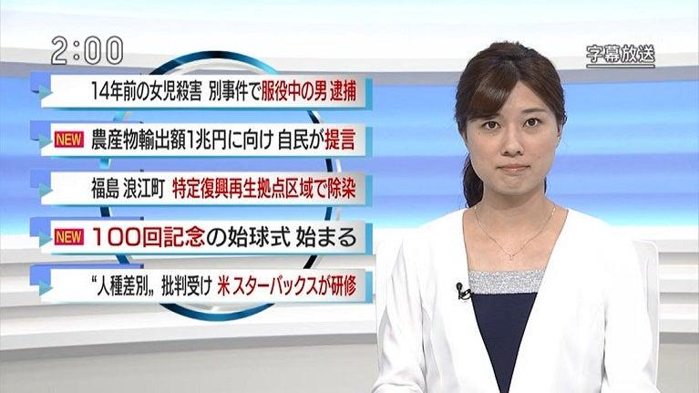 NHK NEWS 石橋亜紗 05/30 | ロー...