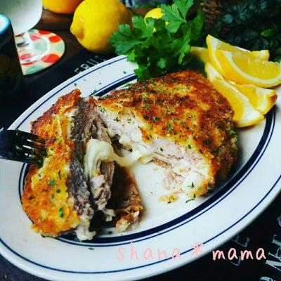 観えないよ(^^;と、揚げないよサクッとヘルシー鶏むねミラノ風ハムチーズカツレツの記事に添付されている画像