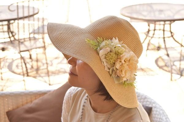 ダリアの麦わら帽子直良