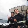 青の洞窟体験ダイビング♪母娘でのんびり沖縄旅行テイクダイブなら貸し切りでのんびりご案内!!の画像