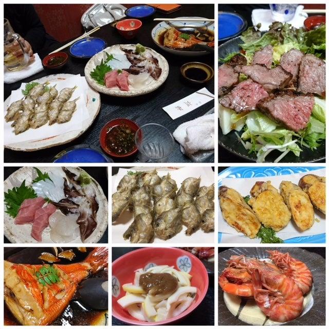 恒例の食事MT.