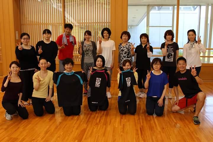 東日本大震災後に行った宮城県での家で簡単に出来る主婦向けの運動(ボランティア)