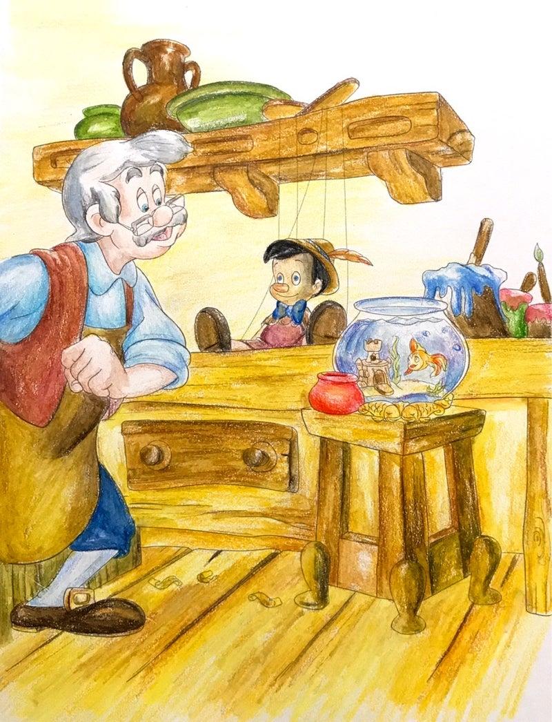 やさしい大人の塗り絵 ピノキオ工房 楽しいコロリアージュ生活大人の