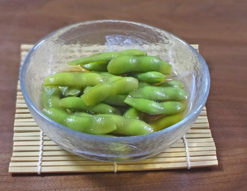 めんつゆで簡単!やみつき枝豆のおひたし