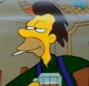 The Simpsonsお気に入り 脇役 キャラクター メロメロのこまかすぎるブログ