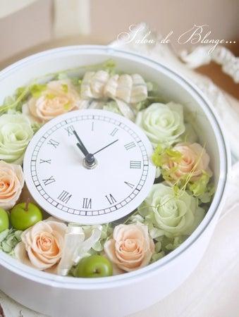 オーダーアレンジの花時計♡