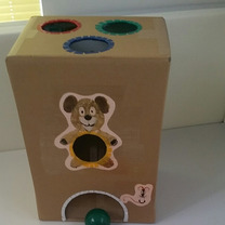 【手作り玩具】ボール落としpart2の記事に添付されている画像