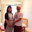 臨月。3ヶ月間、産休…