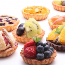 タルト食べ放題のお店の記事に添付されている画像