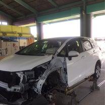 大破修理 修理代金と保険会社の車の価値との兼ね合いについての記事に添付されている画像