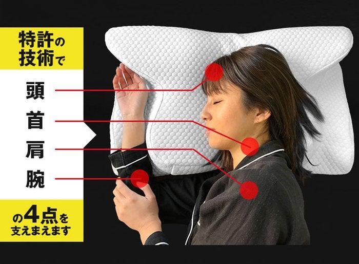睡眠 マクラ 楽ギフ/_包装 いびき防止 テレビで紹介 /(ヨコネ/) 楽ギフ/_のし 横向き枕 快眠 低反発 YOKONE2 枕