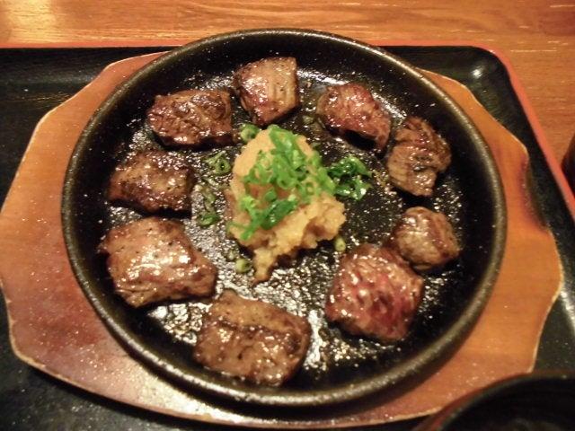 サイコロステーキ1