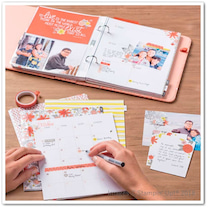 手帳、スケジュール帳、日記帳…プランナーキットは、アレンジが楽しめる一冊です!活の記事に添付されている画像