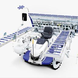 画像 三菱 田植え機 LE80D  実演機 の記事より 6つ目