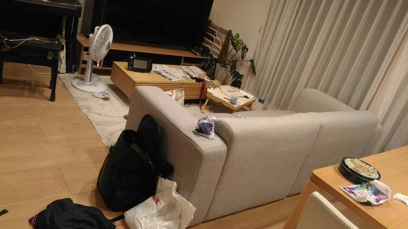 横浜整理収納アドバイザー リビング ビフォー