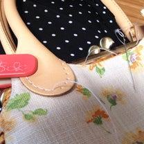 ★お客様からの質問。バックの持ち手を縫い付ける時は、どんな糸を使いますか?の記事に添付されている画像