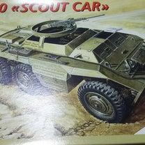イタレリ 1/35 M20スカウトカー ①の記事に添付されている画像