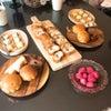 6月の試食パンと人気の発酵バターの画像