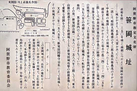 【写8】笹岡城
