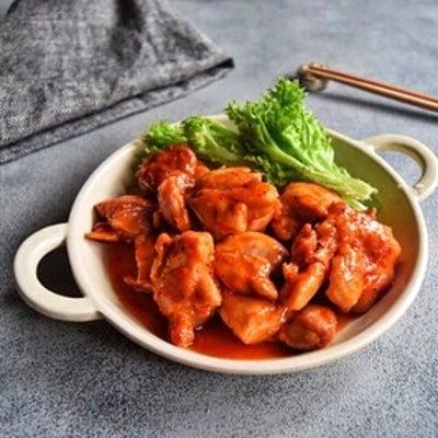 【解凍不要!簡単!下味冷凍作りおき】鶏肉の甘辛コチュジャン炒めの記事に添付されている画像