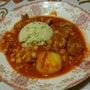 ひよこ豆と豚肉のトマ…