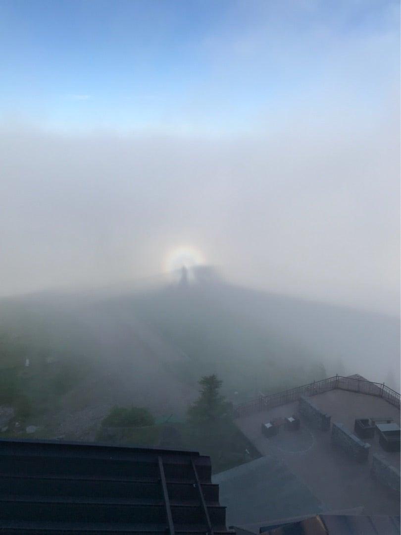王ケ頭ホテル。標高2034メートルの宿の記事より