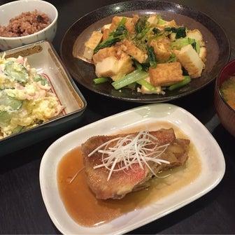 【昨日の晩ごはん☆胃痛で冷や汗!】