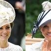 英国王室メーガン妃 ロイヤルアスコットデビュー2018年6月ジバンシィシャツスタイルドレス