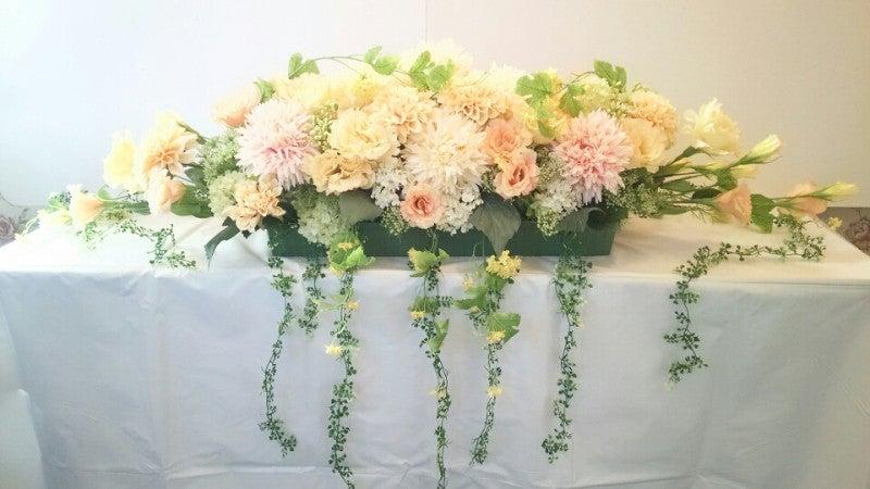 会場装花 アーティフィシャルフラワー
