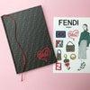 SPUR8月号×FENDI「FFロゴ」ステッカー付ノートブック♡の画像