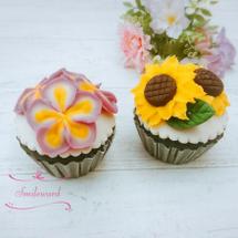 夏の浮島カップケーキ