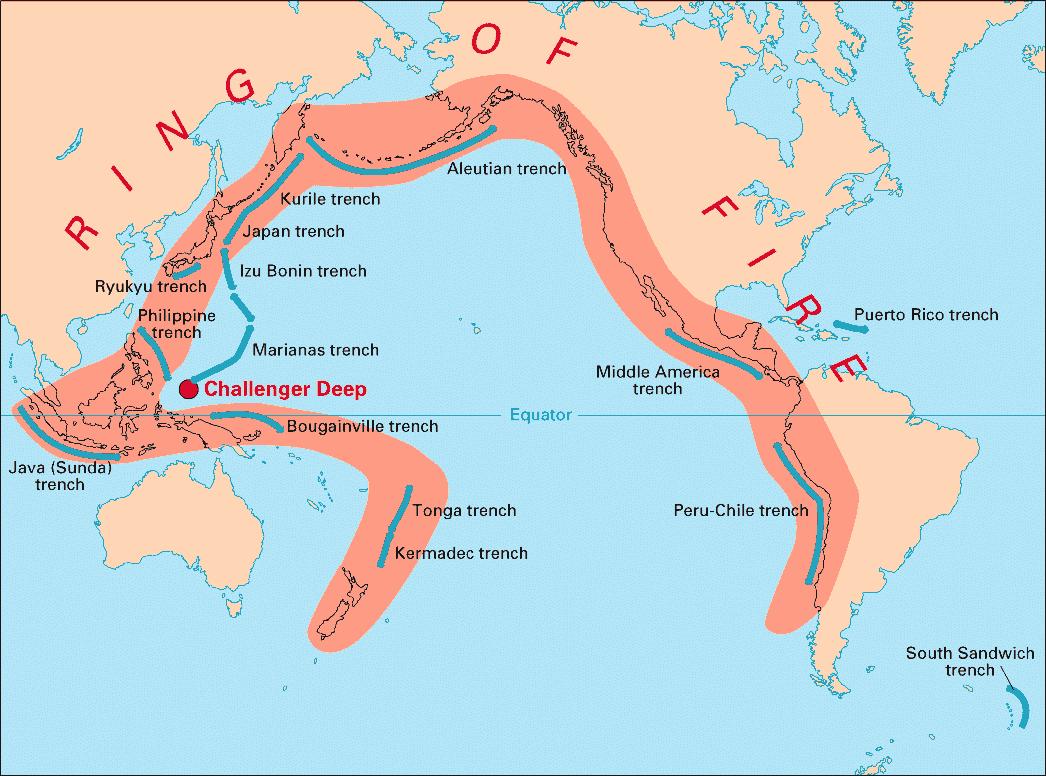 帯 環 太平洋 火山