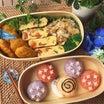 カタツムリと紫陽花弁当~スタバのカスタマイズ♪~