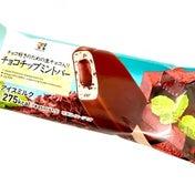 【セブン】チョコ好きのための☆生チョコ入り チョコチップミントバー