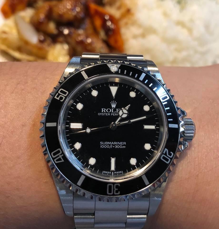 buy popular e74fb d7222 東京は蒸し暑い / ノンデイトサブ | 腕時計好きの山田、カレー ...