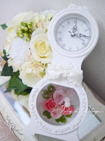 ヨーロピアン調の花時計