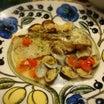 鯛のアクアパッツァ風とトロ~リじゃが芋のグラタンでお夕食♪