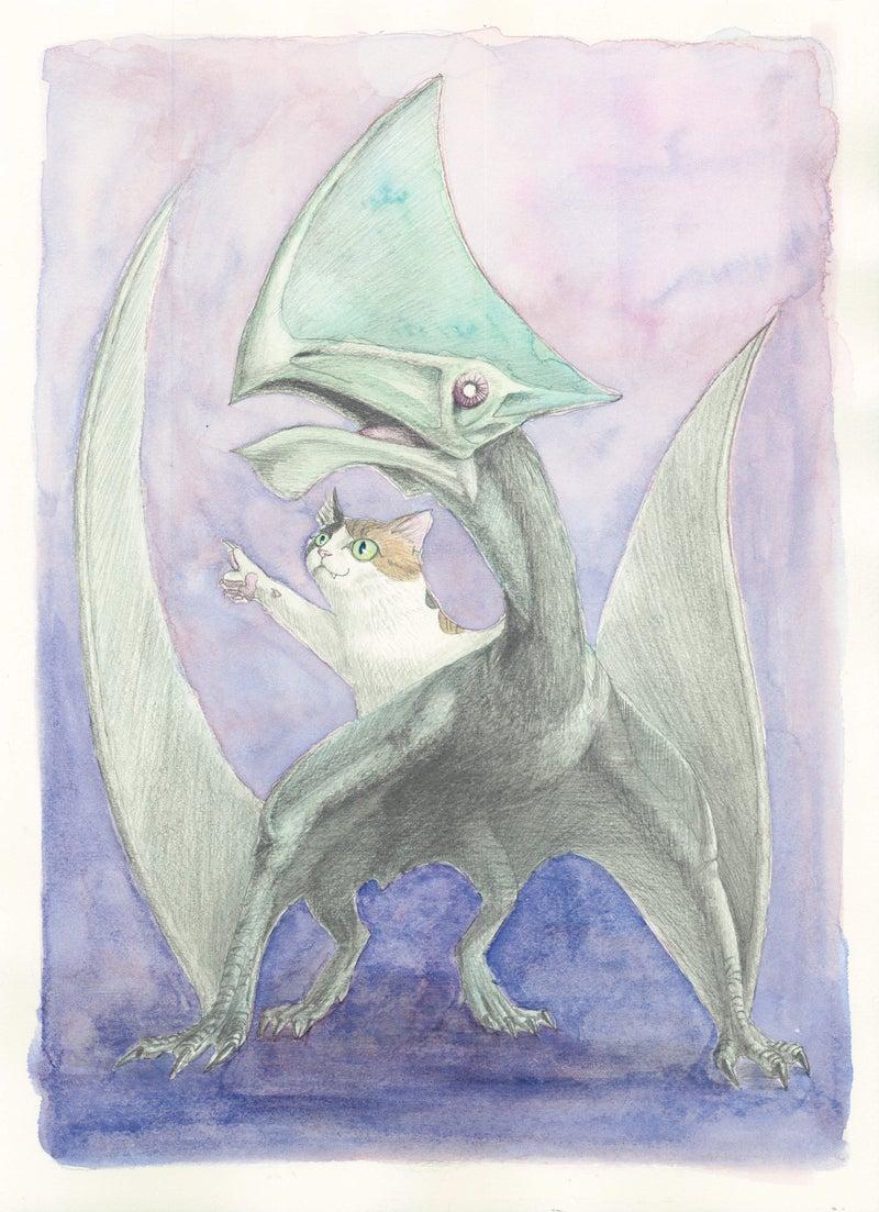 トゥパンダクティルスと猫 | 月が味方をしてくれる。