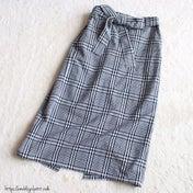 【GUパト】リピ買い!590円チェック柄スカートをイロチ買い♡